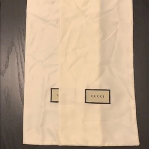 New Gucci Shoe Satin Storage Dust Bags